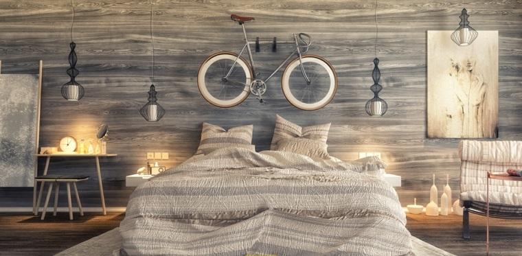 détails et plus d'options idées modernes d'air de vélo de chambre à coucher