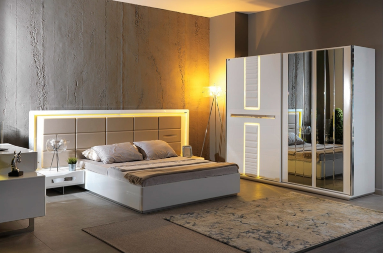détails et plus d'options chambre moderne belles idées de garde-robe