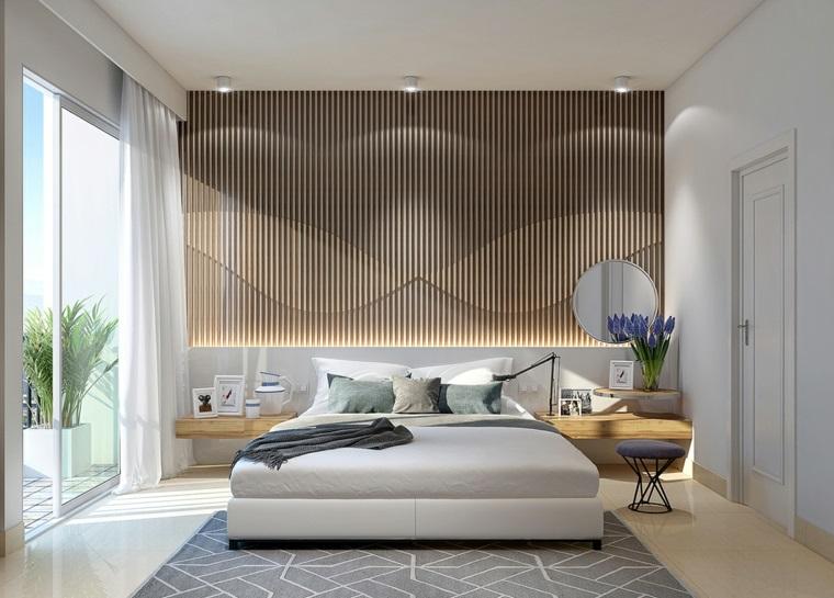 détails et plus d'options idées de tables de chevet en bois de chambre à coucher moderne