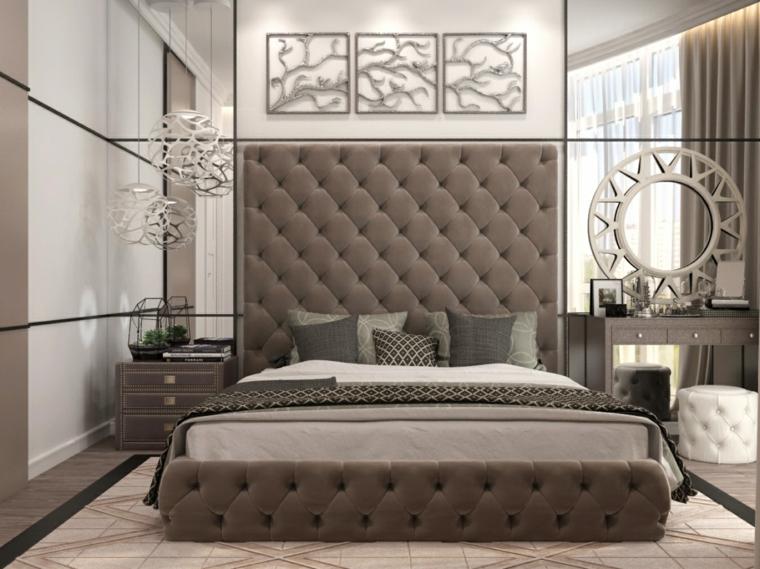 détails et plus d'options miroirs de chambre à coucher modernes idées de mur
