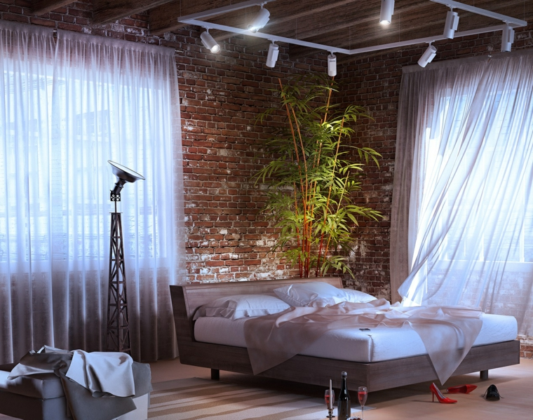 détails options idées de plantes de chambre à coucher modernes