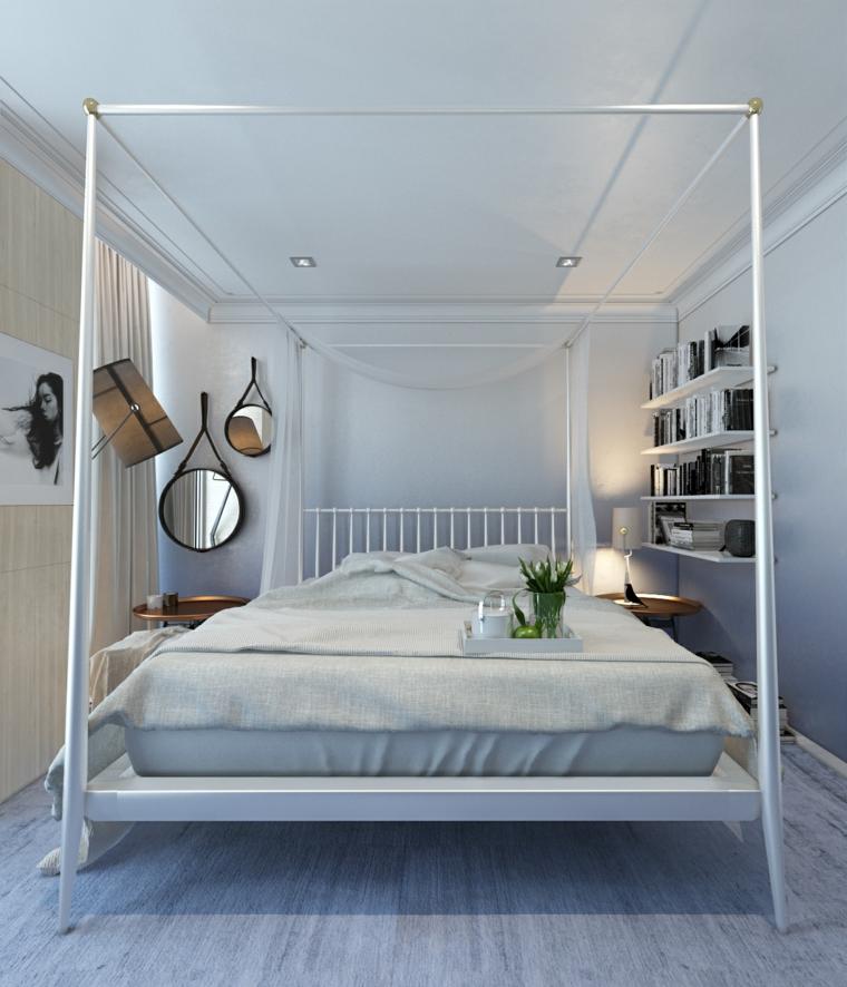 Idées de miroirs décoratifs pour chambre à coucher moderne