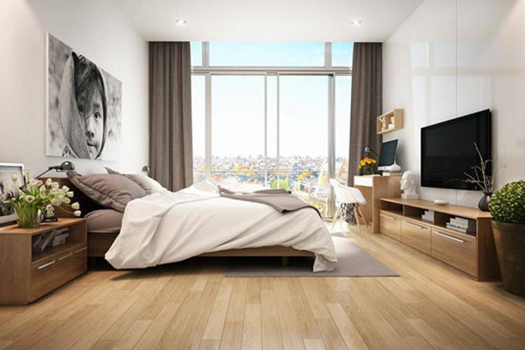 meubles de chambre à coucher modernes idées de plantes en bois