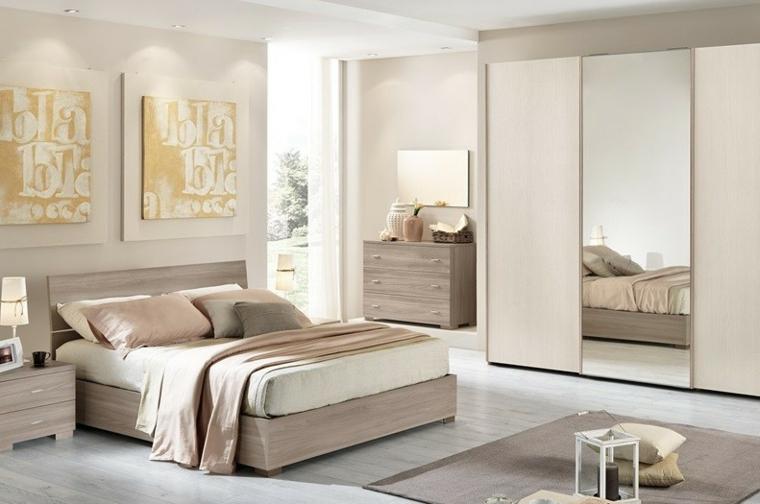 Options de chambre à coucher modernes idées d'espaces lumineux