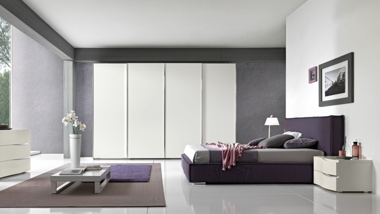 Idées de table basse de chambre à coucher moderne