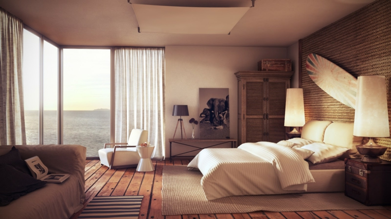 Idées d'options de design d'intérieur de chambre moderne