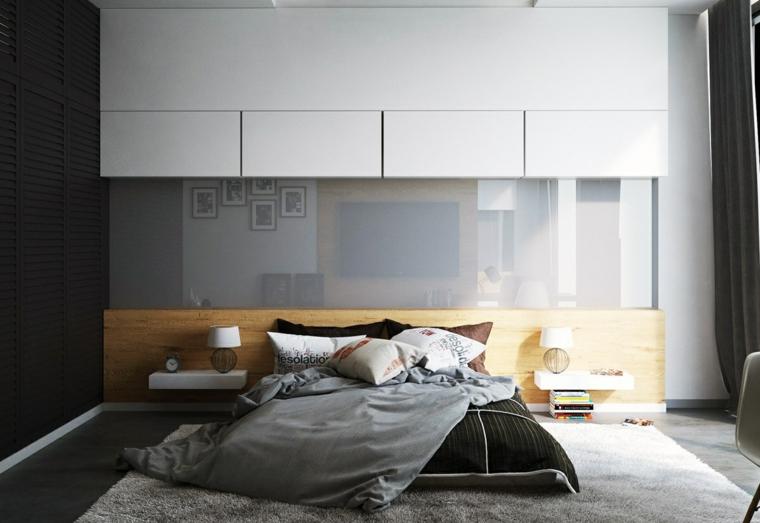 idées de conception de mur d'inspiration chambre moderne