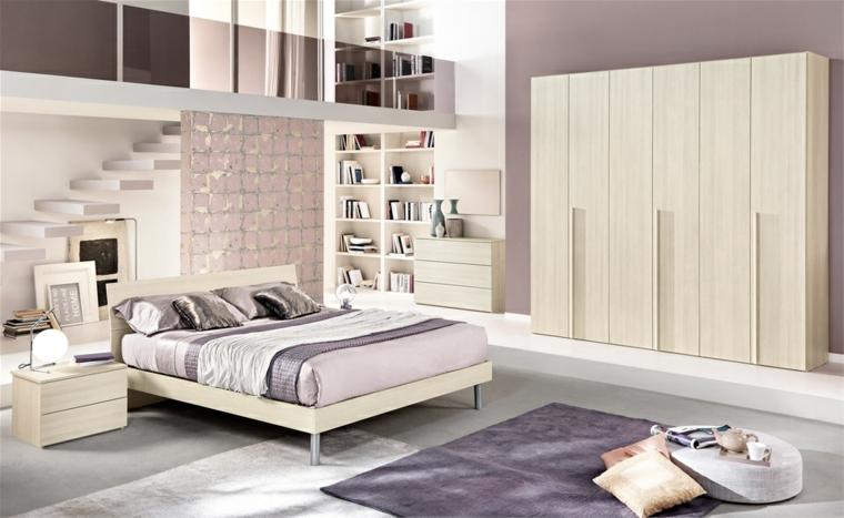 Idées de tapis pour chambre à coucher moderne