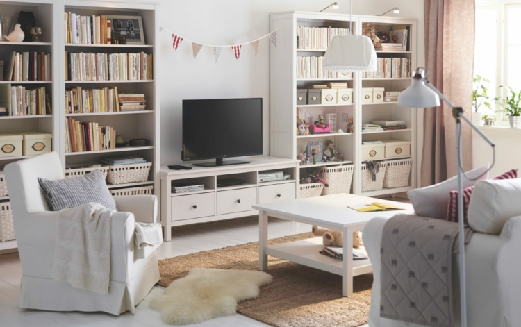 belle étagère de télévision de salon design