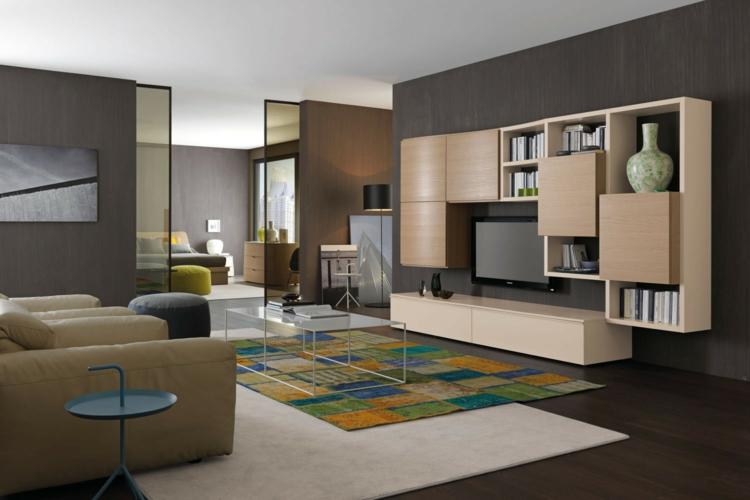 conception de meuble de télévision moderne