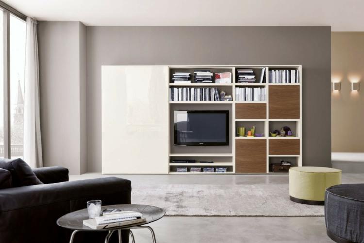 grand meuble mural tv de salon