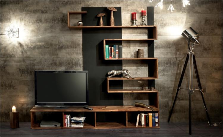 étagères meubles muraux design moderne