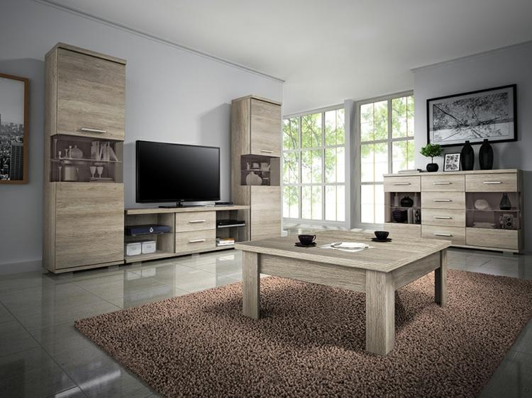 ensemble de meubles de salon en bois stratifié