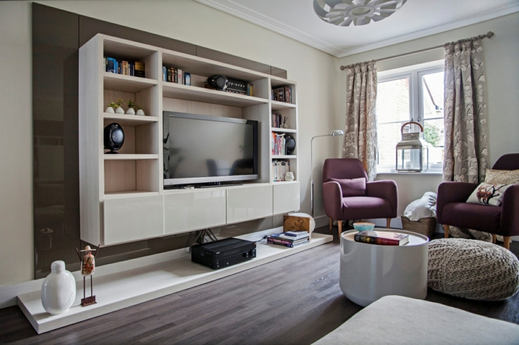 meubles design originaux étagères modenas