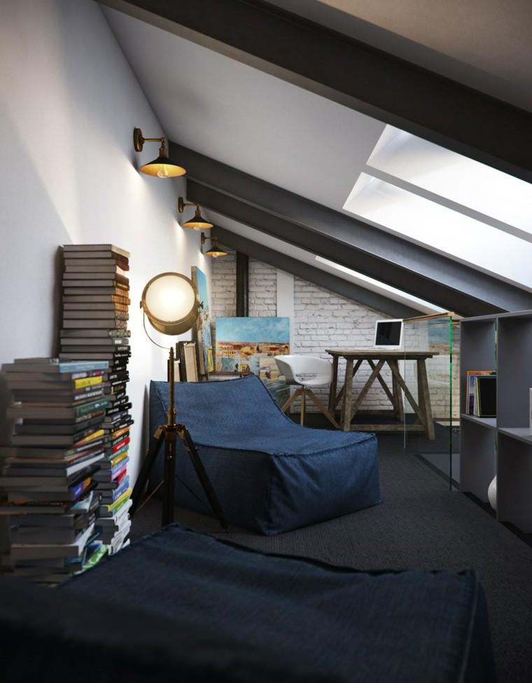 planchers fauteuil mur bleu idées de briques blanches