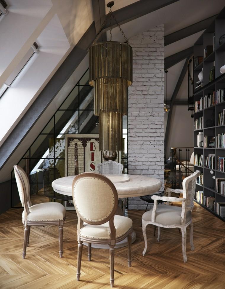 planchers de salle à manger idées originales de plafonniers suspendus
