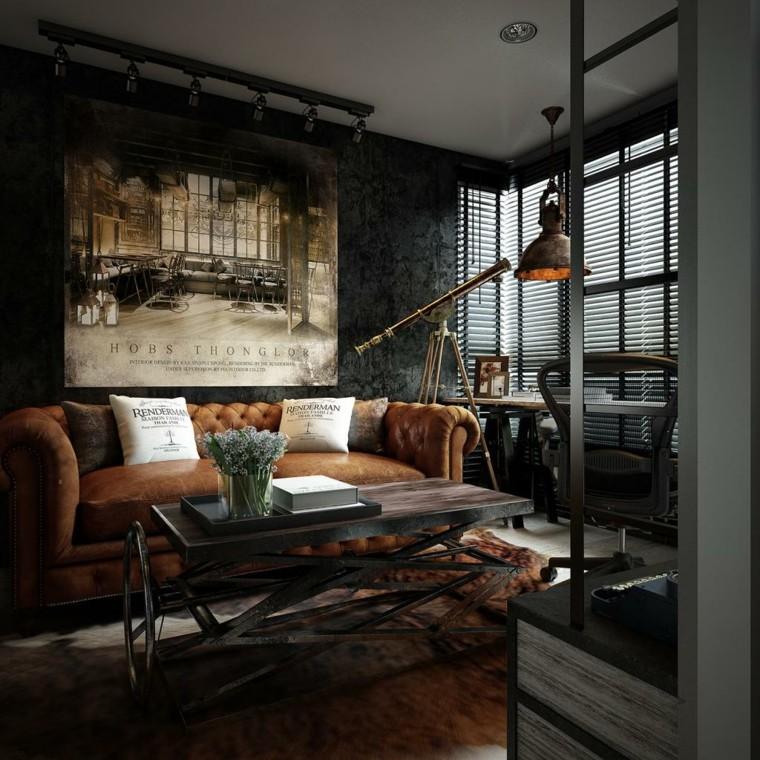 grand canapé en cuir idées originales de mur d'image de table