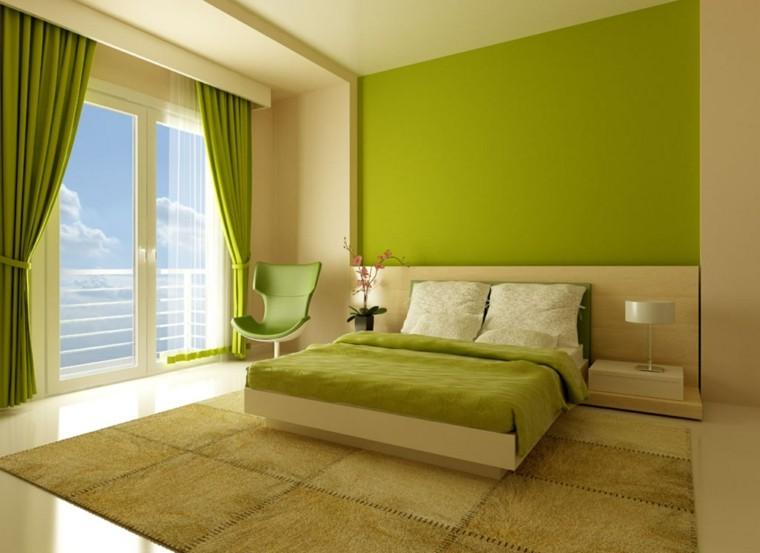 combinaisons de couleurs beige vert idées murales vibrantes