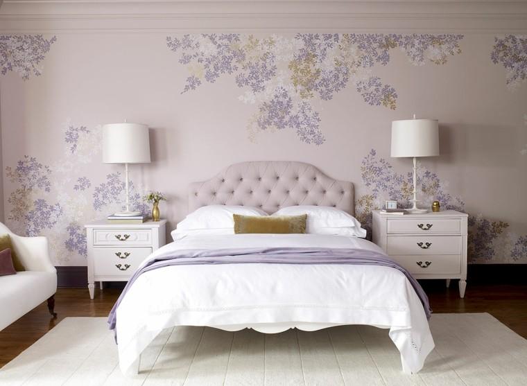 combinaisons de couleurs claires impressions de murs idées de chambre à coucher