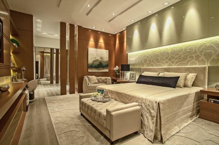 combinaison de style de chambre à coucher en bois vert clair