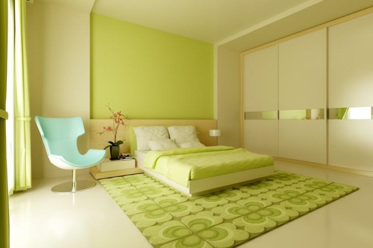 combinaison de couleurs vert foncé idées maison