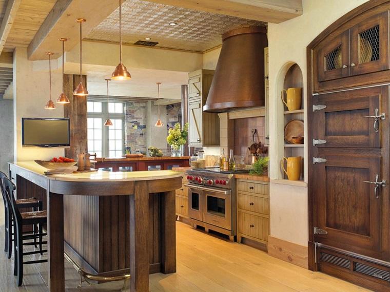 Comment concevoir un bar de cuisine des idées intéressantes pour la maison moderne en bois