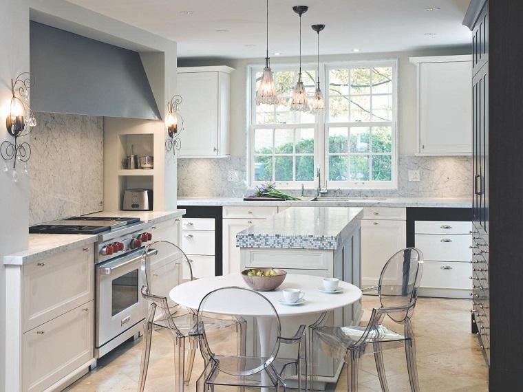 comment concevoir une cuisine blanche moderne de style moderne