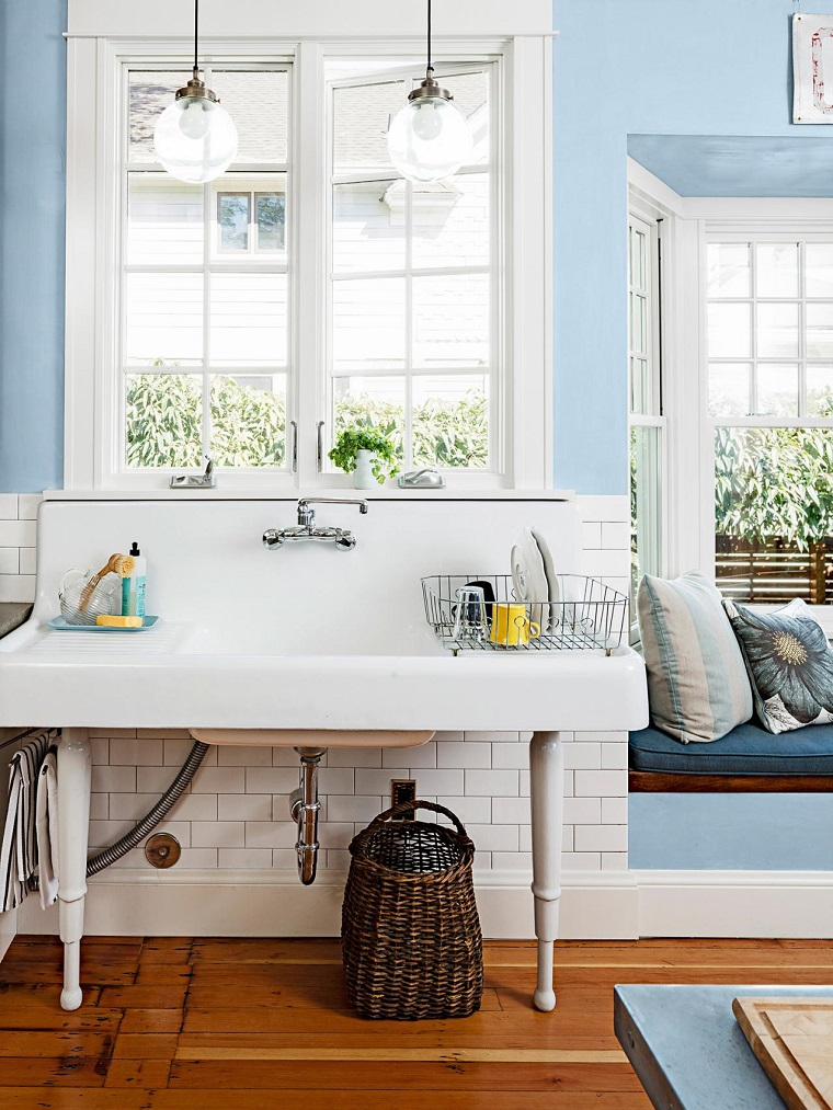comment concevoir un évier de cuisine blanc idées