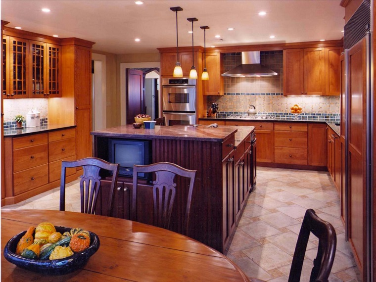 comment concevoir un meuble de cuisine en bois idées larges