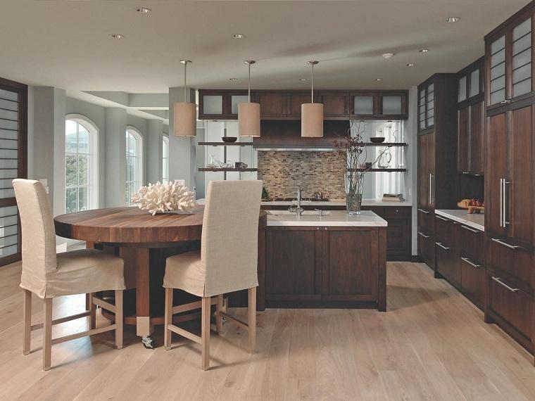 comment concevoir une table de cuisine en bois se déplace des idées faciles