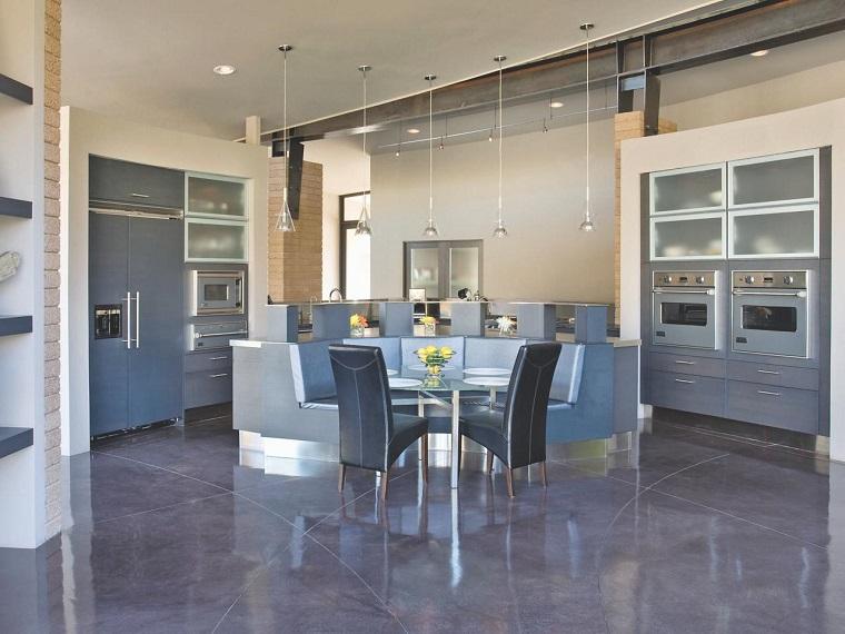 comment concevoir une cuisine plusieurs idées d'espaces gris