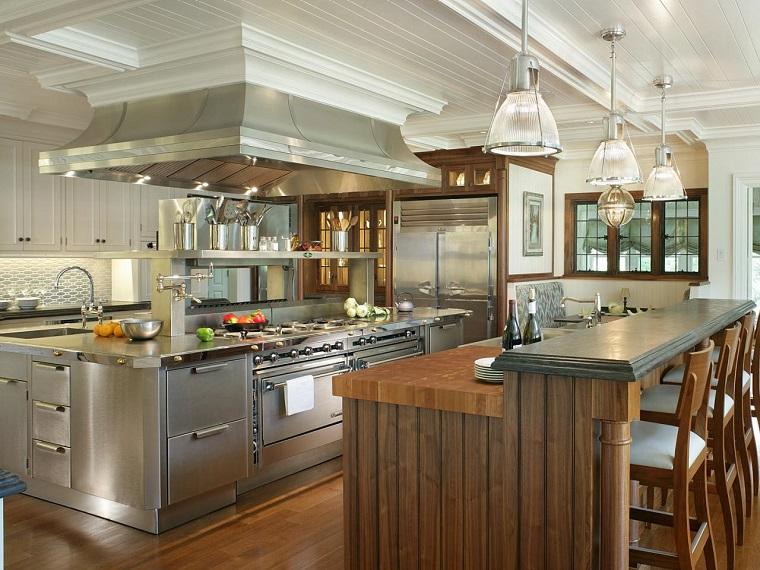 Peter Salerno meubles de cuisine design idées bois modernes