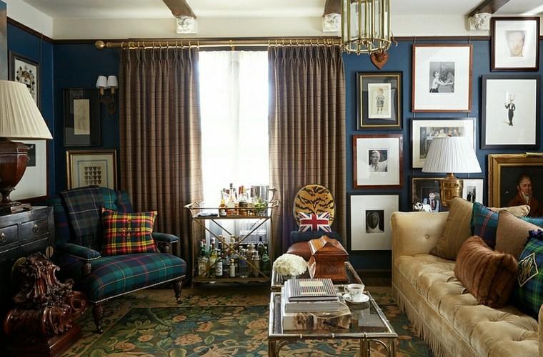 salon design rideaux meubles lampes cijines