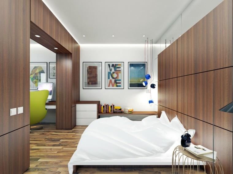 petits appartements murs de couleur claire idées de design en bois