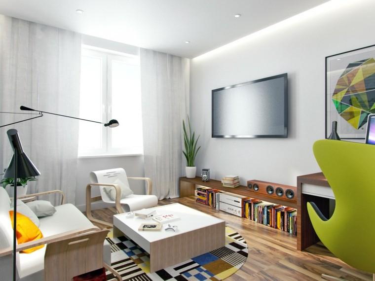idées de table basse petit appartement carré