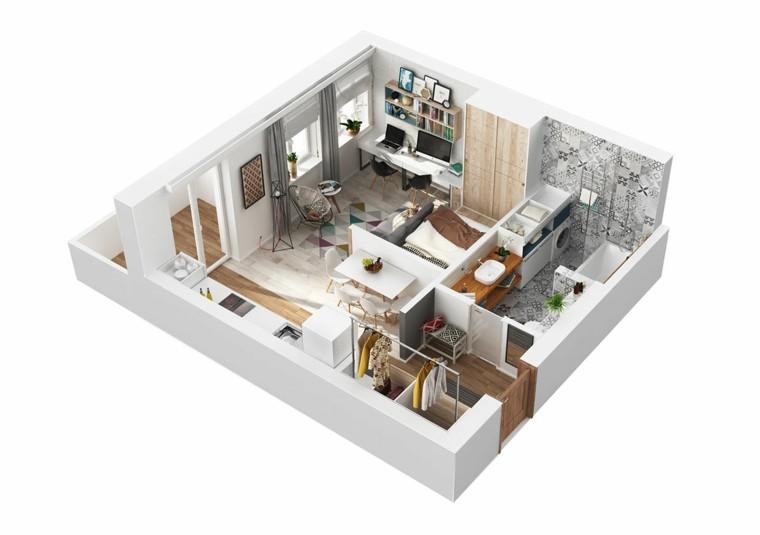 petits appartements design idées originales design