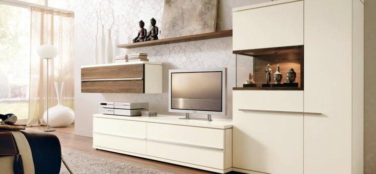 salon blanc moderne vases blancs idées de décoration