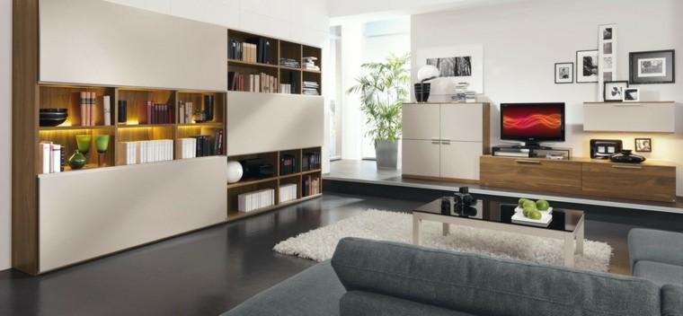 Armoire de la technologie moderne étagères idées meubles muraux