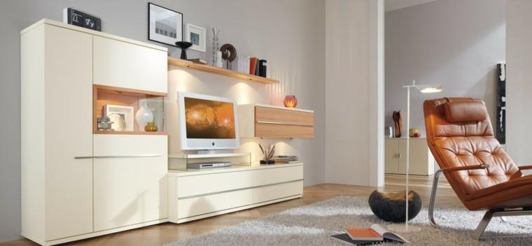technologie moderne murs gris idées de fauteuil en cuir