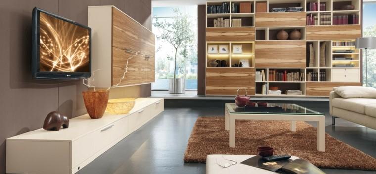 La technologie moderne des idées de meubles de salon lumineux confortable