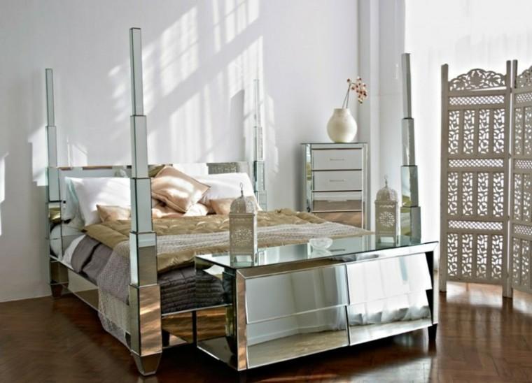 grands miroirs de lit modernes