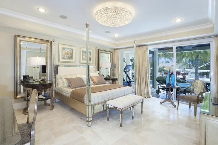 miroirs décoratifs luxueux de grande salle
