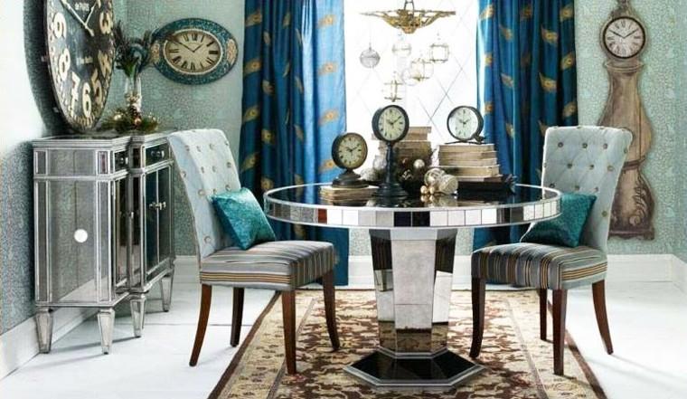 miroirs décoratifs de table ronde