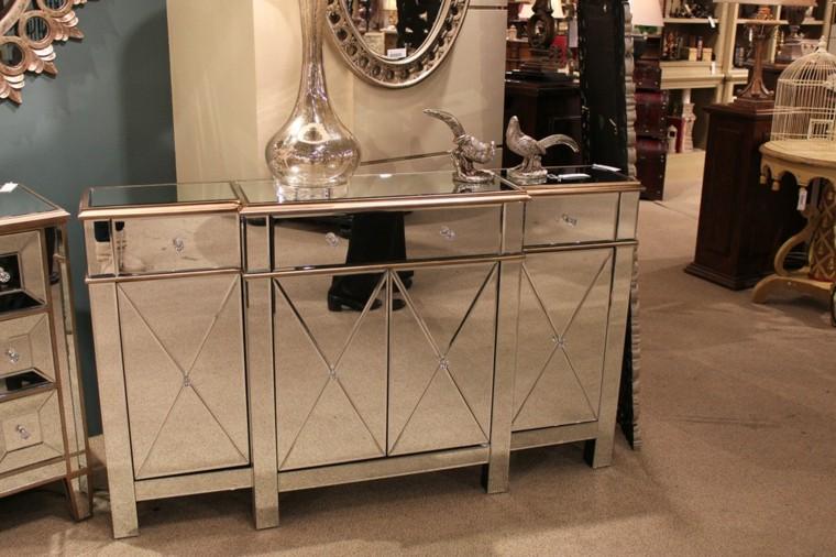 miroirs décoratifs de hall de commode de meubles