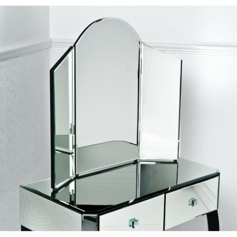 Coiffeuse décorative en cristal moderne