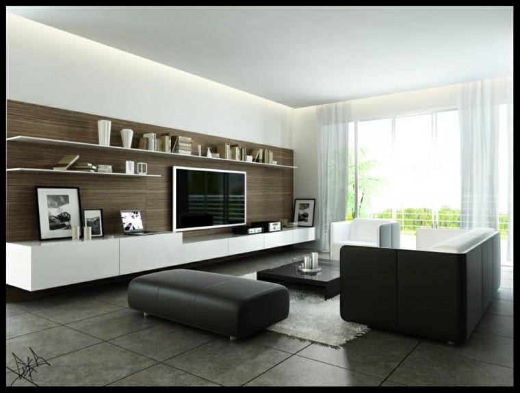 tabouret en cuir de salon lumineux idées de design originales