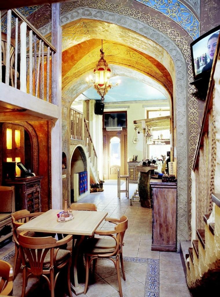 Meubles de salle à manger de style marocain idées rustiques