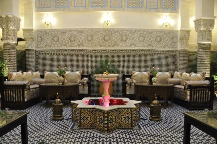 Idées de mur de sol en mosaïque joli style marocain