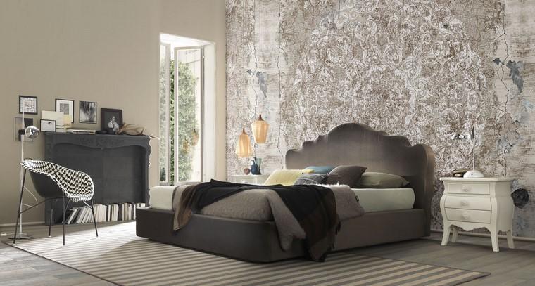lit confortable idées de chambres modernes intéressantes