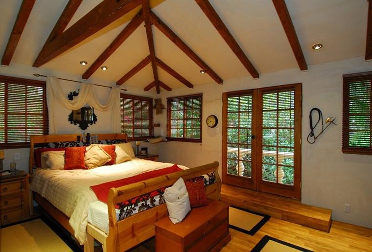 design rustique moderne idées de chambre à coucher moderne